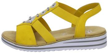 Rieker Sandals yellow (V0687-68)