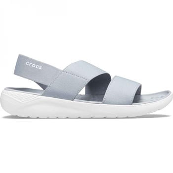 Crocs Literide Streach Sandal W light grey/white