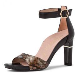 tamaris Tamaris Da.-sandalette (1-1-28303-24) blk leath/str.