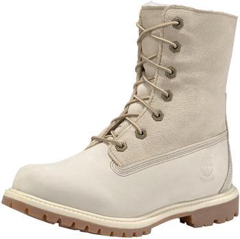 Timberland Women's Authentics Waterproof Fold-Down Boot (8331R) winter-white
