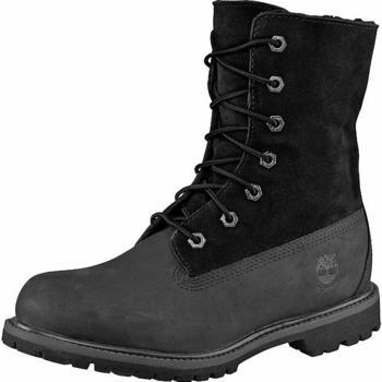 Timberland Women's Authentics Waterproof Fold-Down Boot black (C8149A)