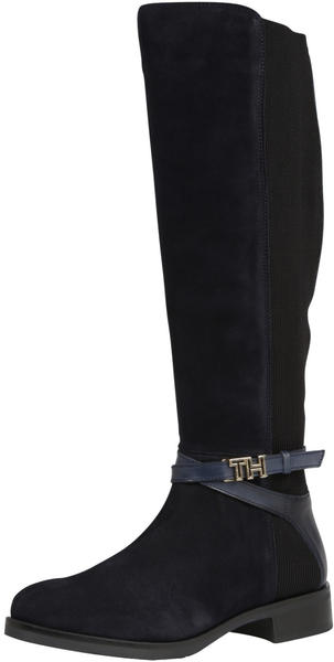 Tommy Hilfiger Hardware Detail Long Boots midnight