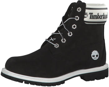 Timberland 6-Inch Logo Collar Boots black