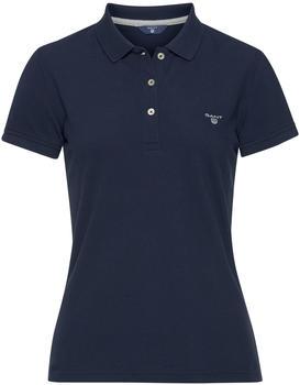 GANT Sommer Piqué Poloshirt shadow blue (409504-403)
