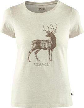 Fjällräven Deer Print T-Shirt beige