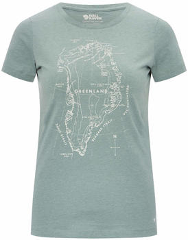 Fjällräven Greenland Printed T-Shirt W frost green