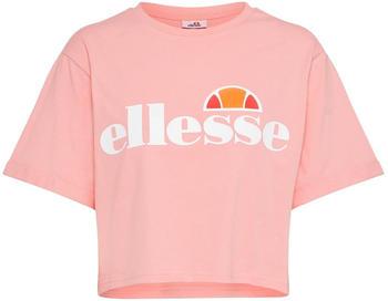 Ellesse Alberta Crop T-Shirt pink