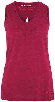 VAUDE Women's Skomer Top crimson red