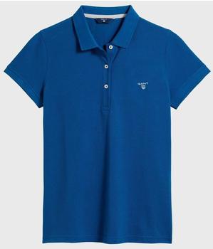 GANT Sommer Piqué Poloshirt dark ocean blue (409504-406)