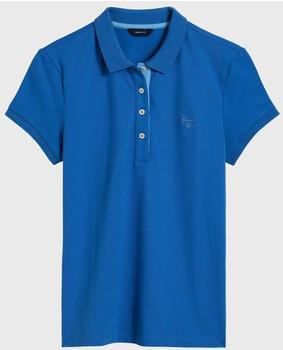 GANT Kurzarm Kontrastkragen Piqué Polo palace blue (401250-424)