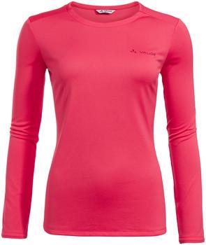 VAUDE Women's Essential LS T-Shirt bright pink