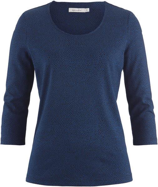 hessnatur Shirt aus Bio-Baumwolle blau (4598818)