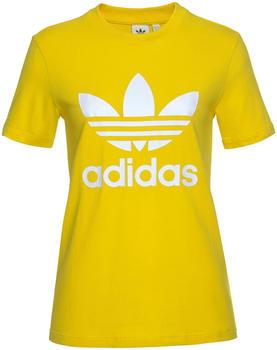 Adidas Originals Trefoil T-Shirt Damen yellow (ED7495)