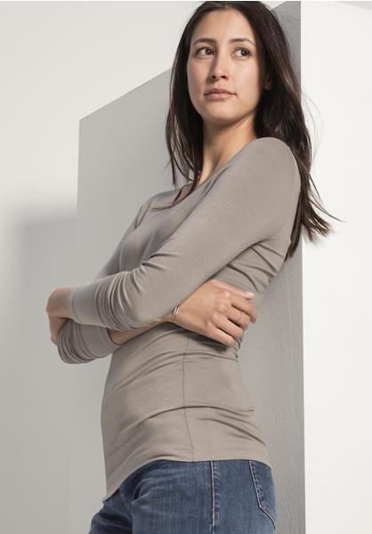 hessnatur Shirt aus Modal grau (46269-07)
