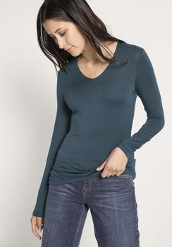 hessnatur Shirt aus Modal grün (46269-48)