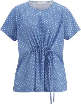 hessnatur Shirt aus Bio-Baumwolle blau (4811812)