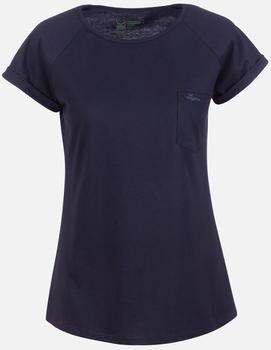 Trigema T-Shirt Brusttasche aus Biobaumwolle (39207) C2C navy