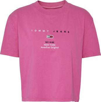 Tommy Hilfiger 1985 Cropped T-Shirt (DW0DW07534-TZ7)