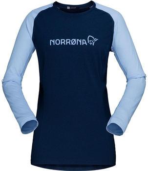 norrna-fjora-equaliser-lightweight-long-sleeve-women-indigo-night-serenity