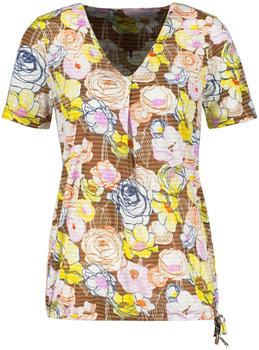 Gerry Weber Shirt mit Blumenmuster braun/gelb (1-270096-44035-7048)