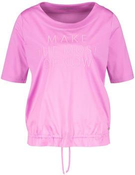 Gerry Weber Shirt mit Statement Schriftzug pink elderflower (1-270048-44033-30846)