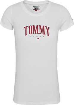 Tommy Hilfiger Logo Slim Fit T-Shirt white (DW0DW08061-YBR)