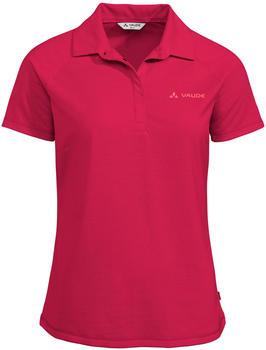 VAUDE Women's Skomer Polo Shirt cranberry