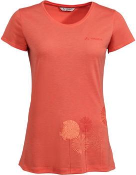 VAUDE Women's Skomer Print T-Shirt pink canary