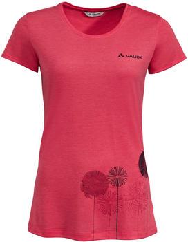 VAUDE Women's Skomer Print T-Shirt bright pink