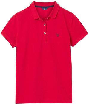 GANT Sommer Piqué Poloshirt bright red (409504-620)