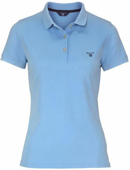 GANT Sommer Piqué Poloshirt capri blue (409504-468)
