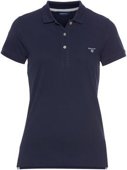 GANT Sommer Piqué Poloshirt evening blue (409504-433)
