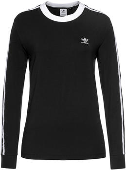 Adidas Women Originals 3-Striped Longsleeve Top black (FM3301)
