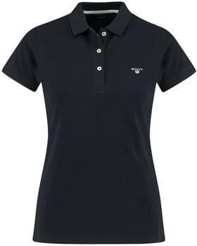 GANT Sommer Piqué Poloshirt black (409504-005)