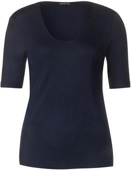 Street One Palmira Basic Shirt (A313104) deep blue
