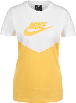 Nike Sportswear Heritage T-Shirt (BQ9555) white/yellow