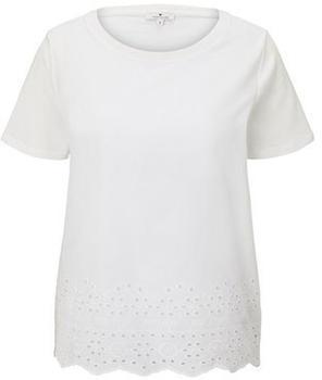 Tom Tailor Damen-Shirt whisper white (1019225)