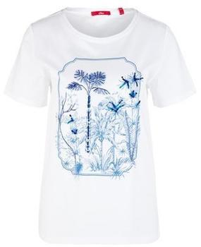 S.Oliver T-Shirt (2039512) weiß