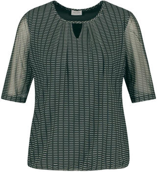 Gerry Weber T-Shirt 1/2 Arm (470215-35015) deep forest/ecru druck