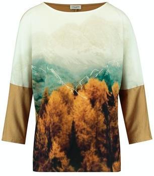 Gerry Weber T-Shirt 3/4 Arm (370106-44150) ecru/weiss/gelb druck