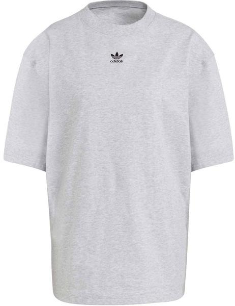 Adidas LOUNGEWEAR Adicolor Essentials T-Shirt Women light grey heather