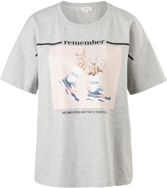 S.Oliver T-shirt (2101238) grau