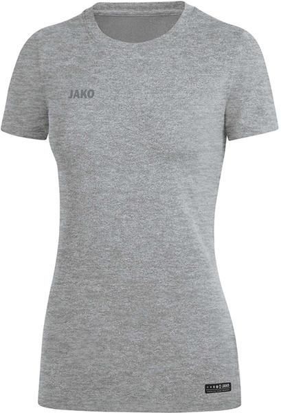 JAKO Damen T-Shirt Premium Basics 6129 grau meliert