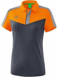 erima Erima Damen Poloshirt Squad (1112004) new orange/slate grey/monument grey