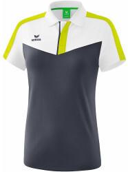 erima Erima Damen Poloshirt Squad (1112010) weiß/slate grey/bio lime