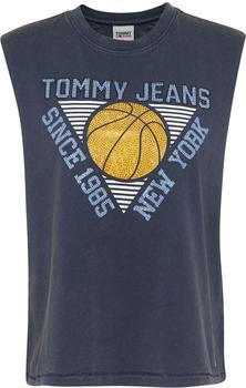 Tommy Hilfiger Vintage Logo Acid Wash Tank Top twilight navy (DW0DW09821-C87)