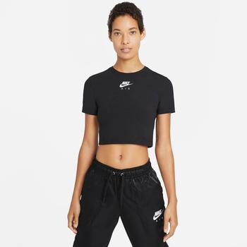 Nike Short-Sleeve Crop Top Nike Air (CZ8632) black/white
