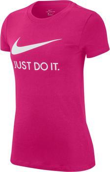 Nike JDI Sportswear T-Shirt (CI1383) fireberry/white