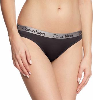 Calvin Klein Slip - Radiant Cotton black (000QD3540E)