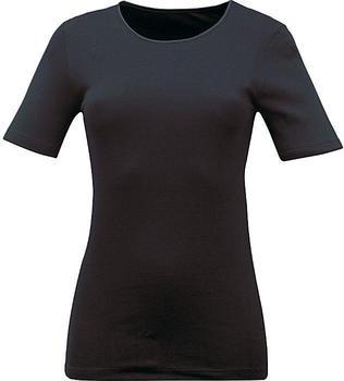 Mey Noblesse Spencer Short Sleeved Vest (26807) black